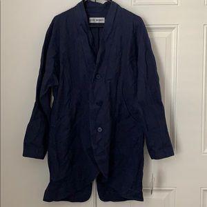 NWT Issey Miyake Navy Jacket size 3